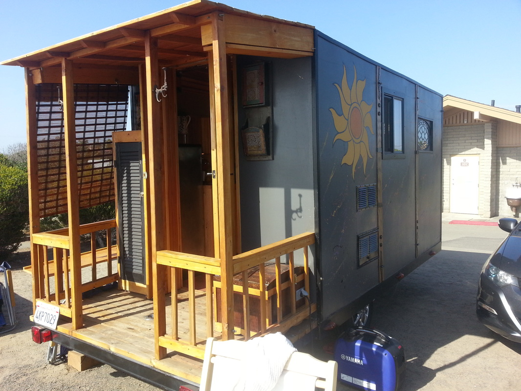 Check Out This Gypsy Rose Tiny House Built By W H Engel of San
